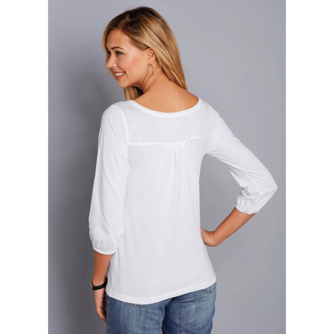tee shirt femme manche 3/4
