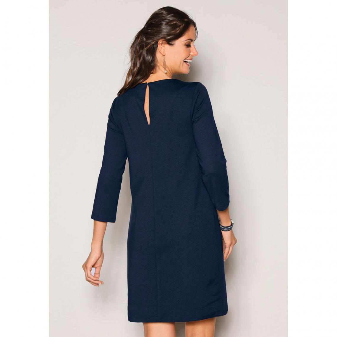 Robe Bleu Marine Femme Factory Store