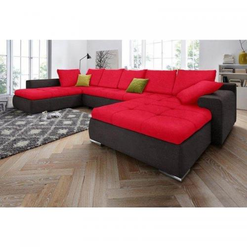 canap d 39 angle panoramique xxl conible microfibre. Black Bedroom Furniture Sets. Home Design Ideas