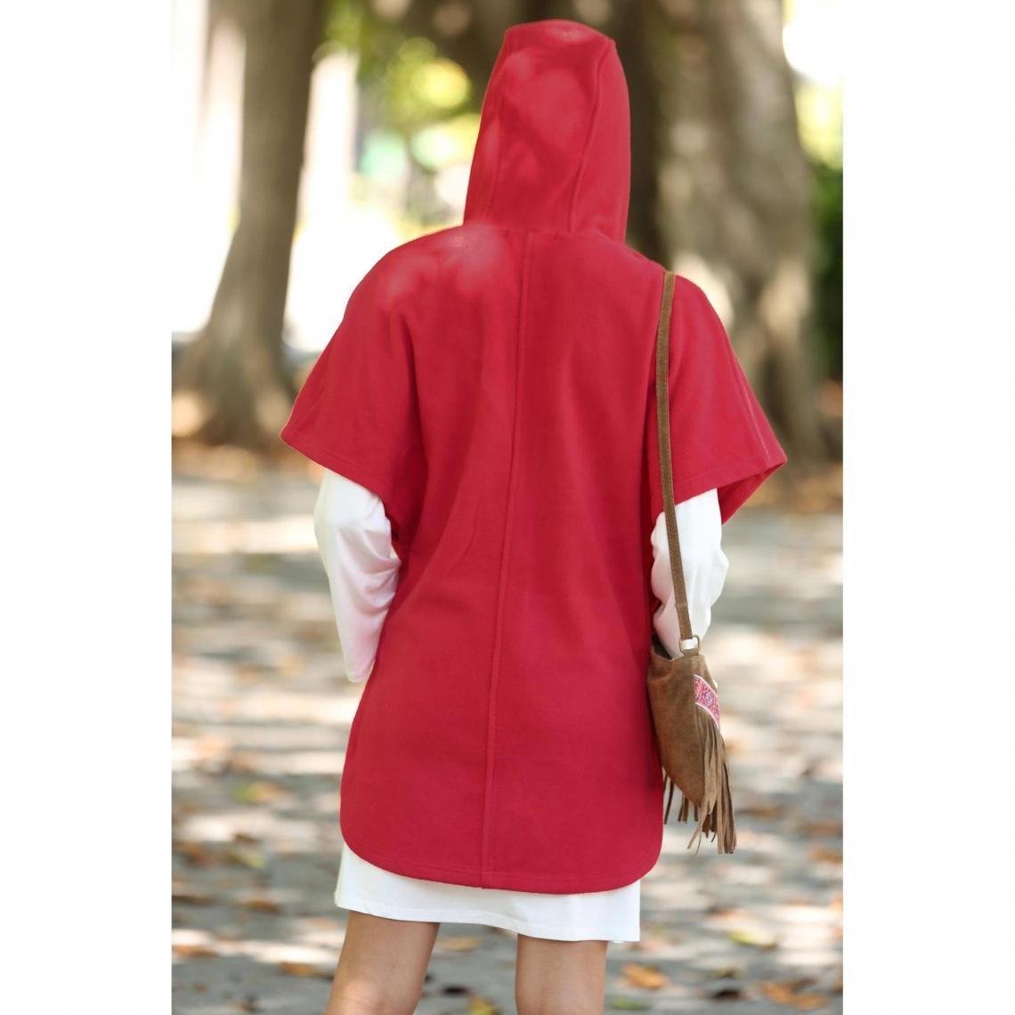 Manteau Exclusivité 3SUISSES - Rouge   3Suisses b56de08c2d43