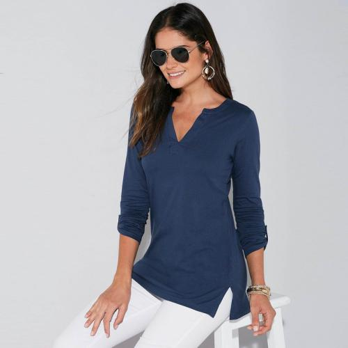 3 SUISSES - Tee-shirt - Bleu Marine - Mode Grande Taille