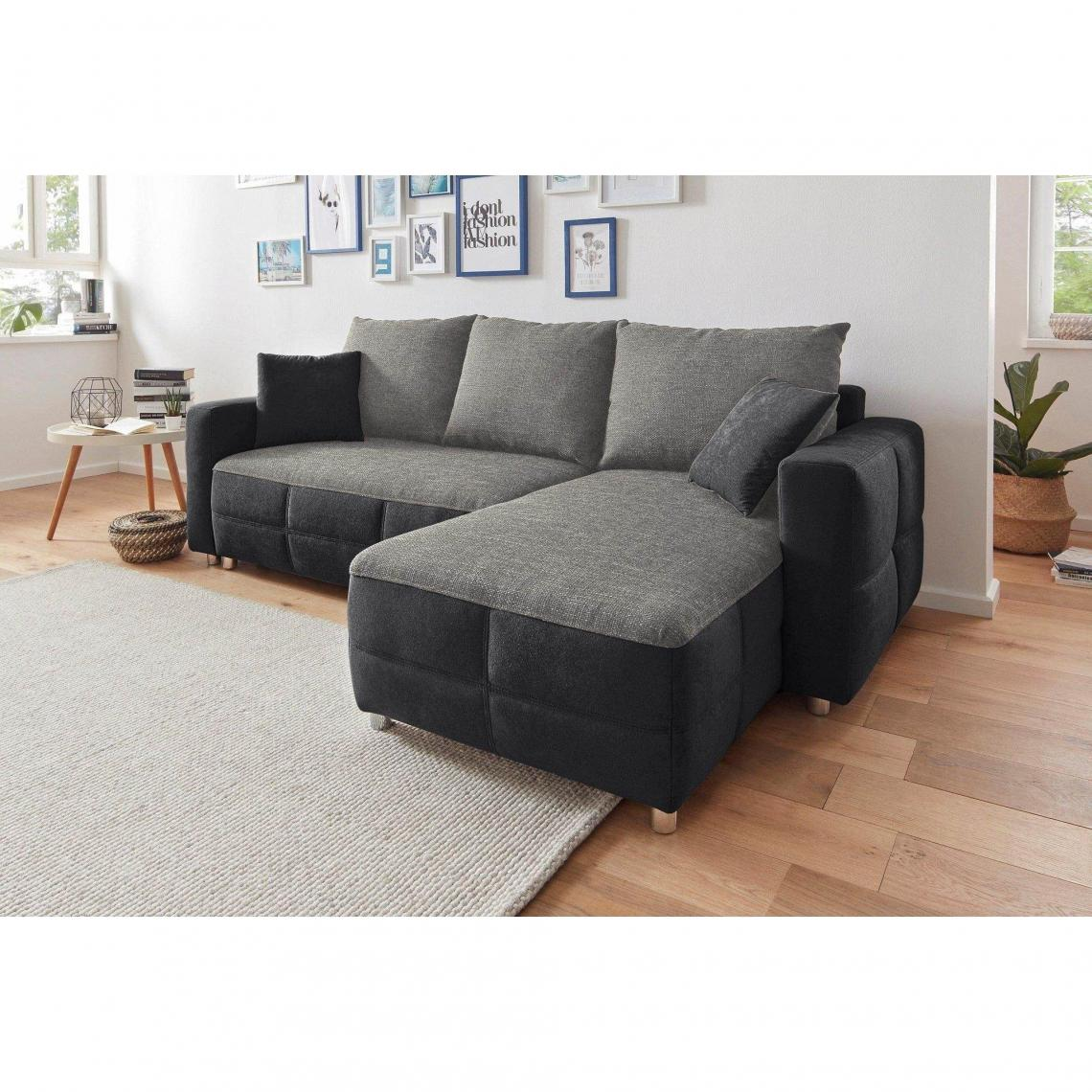 canap d angle m ridienne r versible conible avec coffre. Black Bedroom Furniture Sets. Home Design Ideas