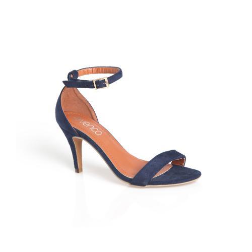 72574eba8366 3 SUISSES - Sandales à talon et lanière sur cheville femme - Chaussures  femme