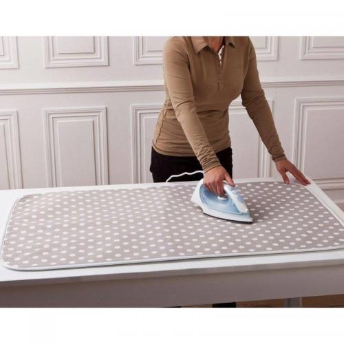 nappe de repassage 6 paisseurs coton fibres synth tiques polyester aluminium unique 3suisses. Black Bedroom Furniture Sets. Home Design Ideas
