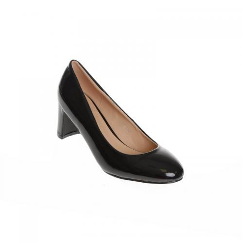 3 Suisses - Chaussures peep toe vernis femme Exclusivité 3SUISSES - Noir - Chaussures femme