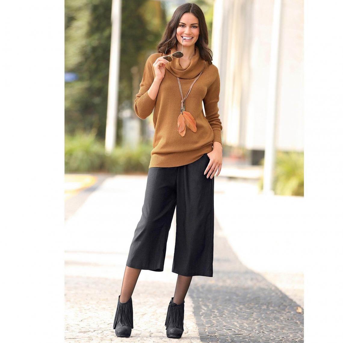Jupe 4 Femme Noir Avis Pantalon 25 Moderne JcFK3T1l