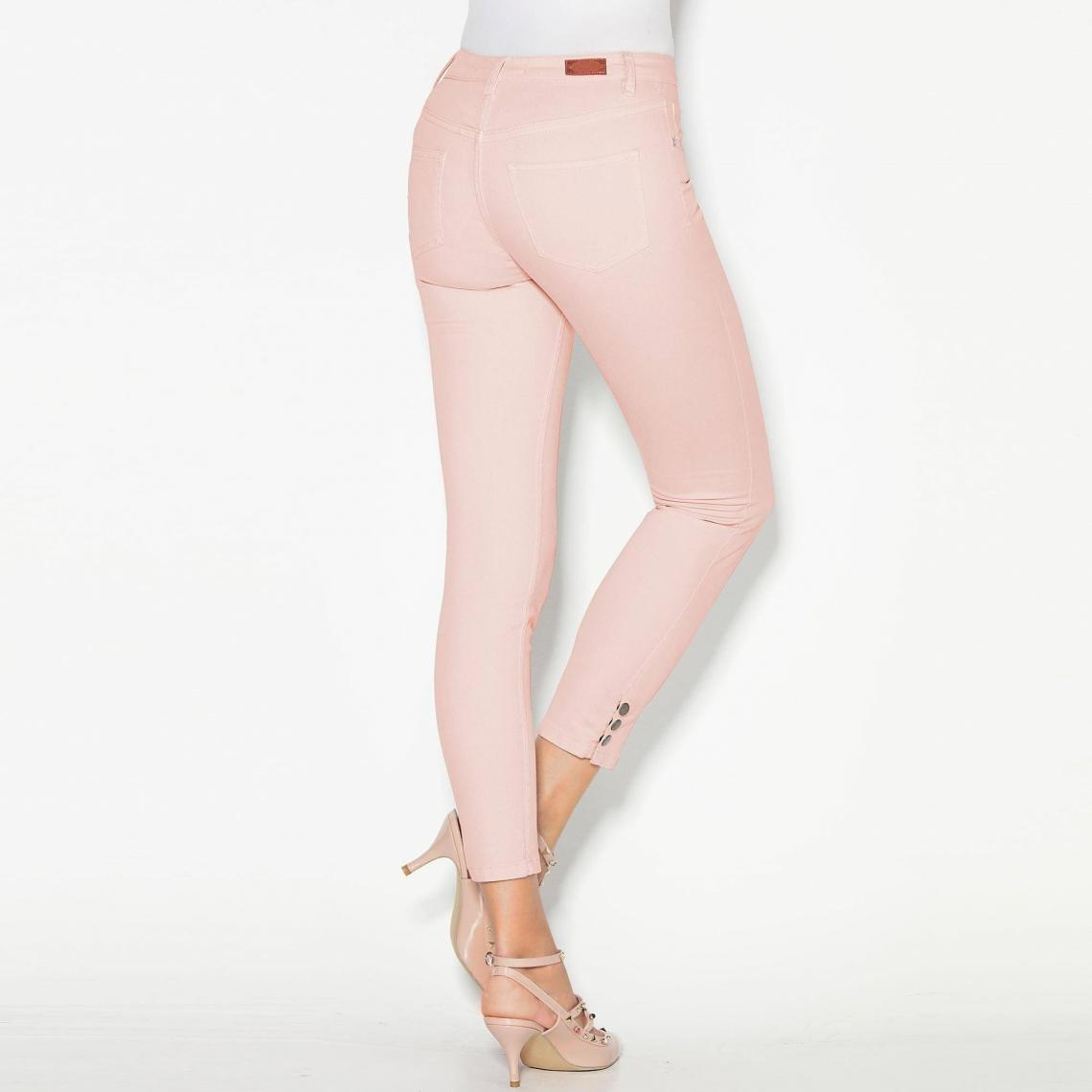 pantalon femme rose