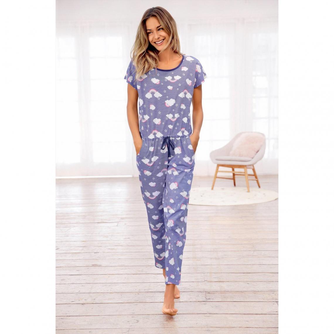 e.Femme Femme Helen Ensemble de Pyjama en 100/% Coton