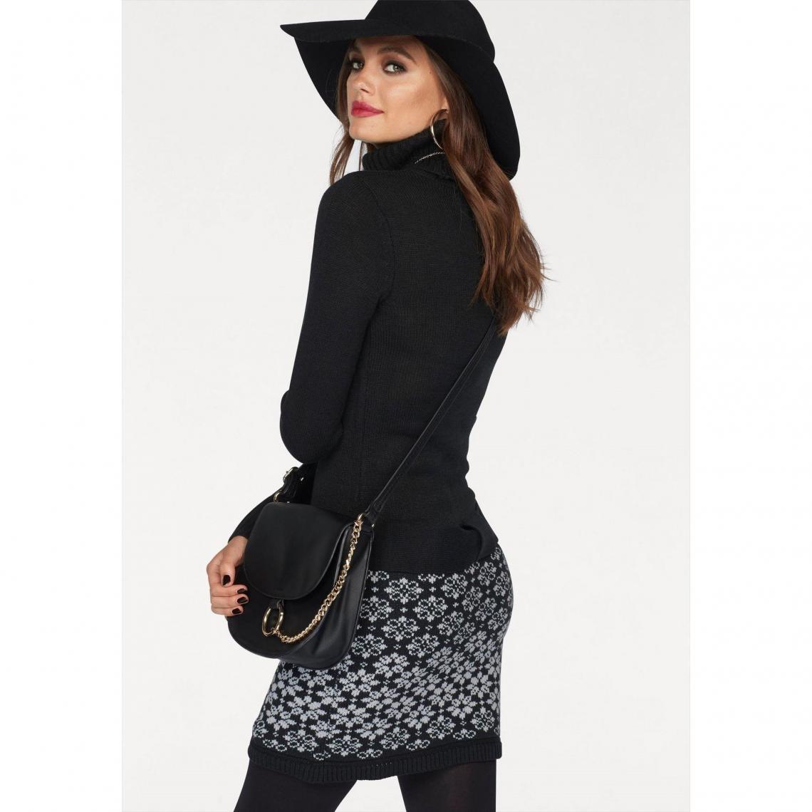 ef623223047 Robe pull femme Melrose - Noir