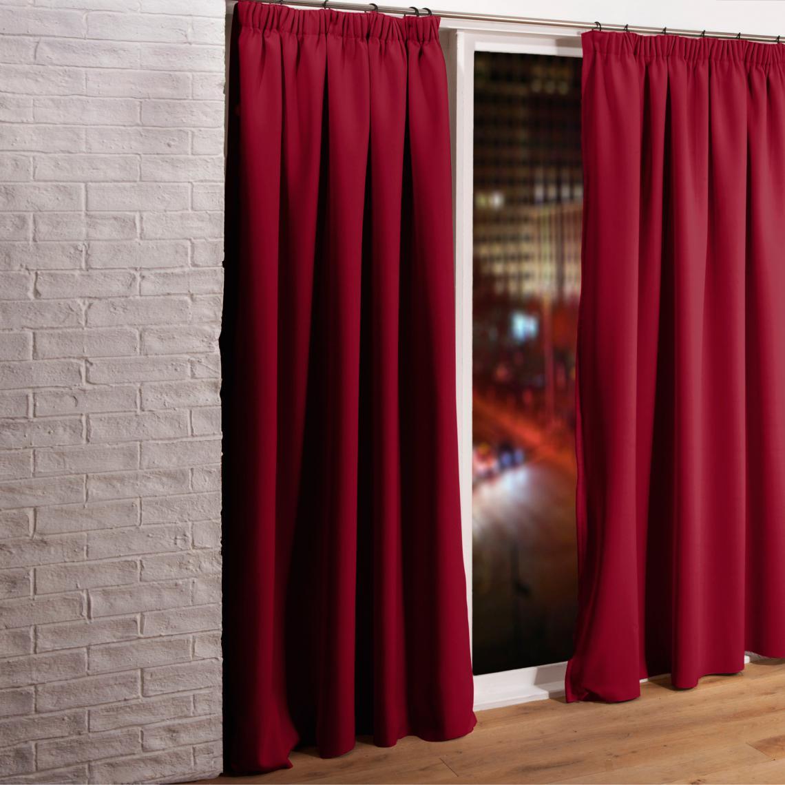 rideau phonique occultant et thermique 3 couches galon. Black Bedroom Furniture Sets. Home Design Ideas