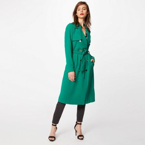 Morgan - Trench fuide femme Morgan - Vert - Trench