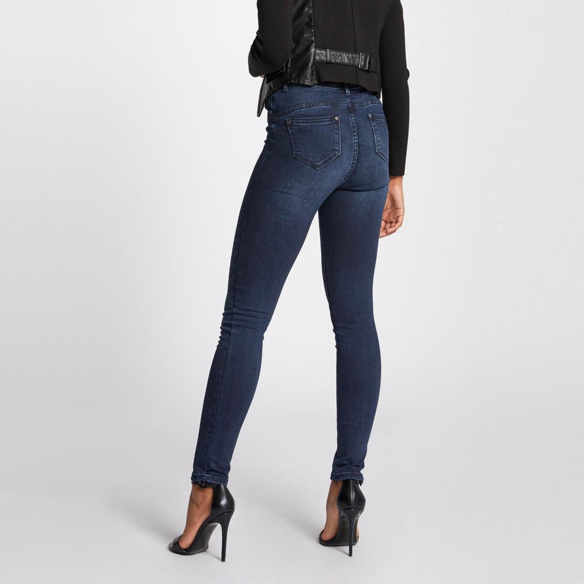 Morgan Bleu Suisses Slim Femme 78 Jean Délavé Stretch 3 Effet xTqaWYwB