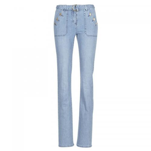 Morgan - JEAN PETER femme de Morgan - Bleu - Jean et denim