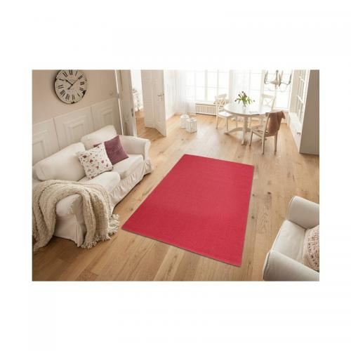 my home - Tapis carré ou rectangulaire en véritable sisal My Home Monza - Rouge - My Home