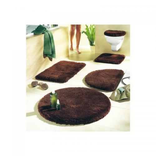 Tapis de bain et tapis de WC Merida my home - Marron my home Linge de maison