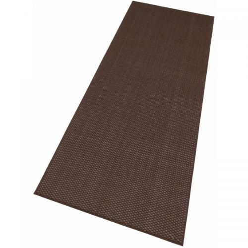 my home - Tapis de Couloir Tissé Aspect Sisal Marron My Home - Tapis