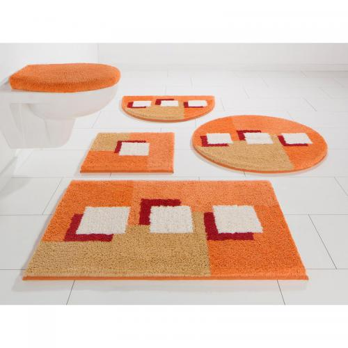 my home - Tapis de bain My home Bathmat Ada - Marron - Linge de maison