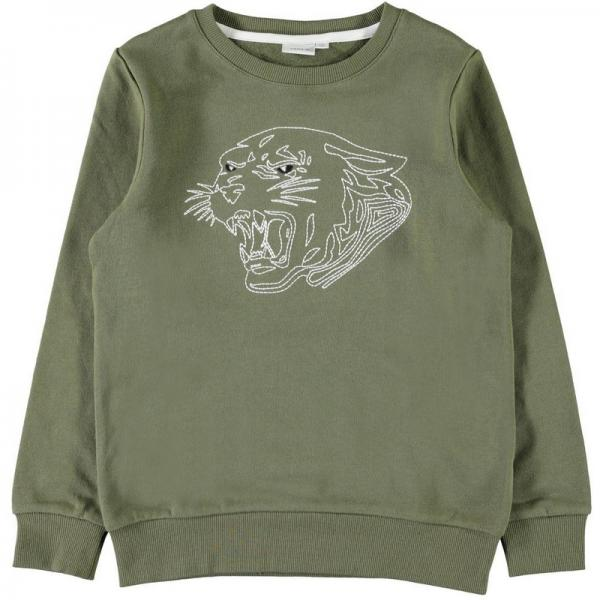 Sweat garçon manches longues Name it - Vert Name It Enfant