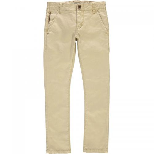 Name It - Pantalon chino slim garçon Name it - Gris Clair - Mode Enfant