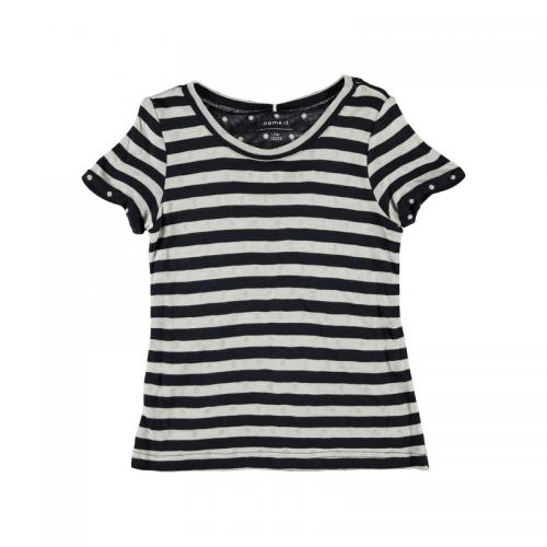 Name It - Tee-shirt à manches courtes fille Name it - Blanc Cassé - Vêtements fille