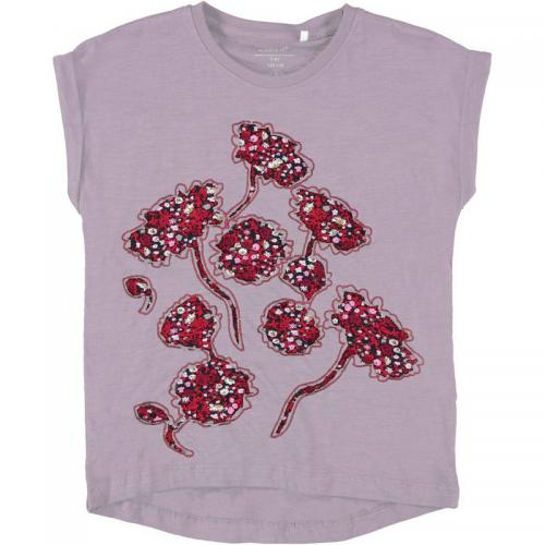 Name It - T-shirt manches courtes fille Name it - Rose - Name It