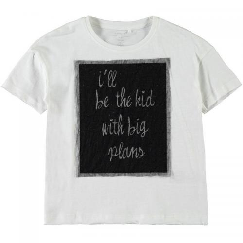 Name It - Tee-shirt manches courtes fille Name it - Blanc - Vêtements fille