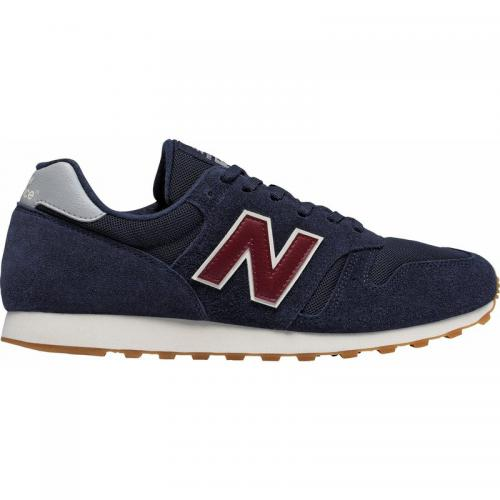 New Balance - Sneakers tendance rétro homme ML373 New Balance - Bleu - Rouge - Chaussures homme