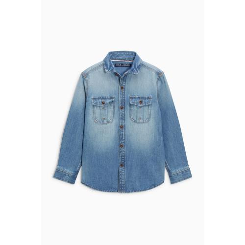 8005edaacfeb6 Next - Chemise en Jean à manches longues Next - Bleu - Vêtements garçon