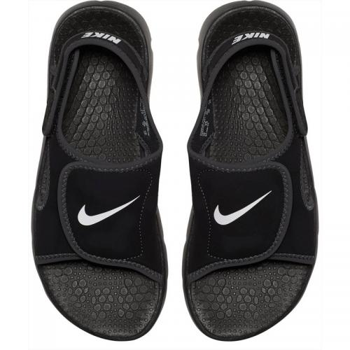 Nike - Sandales Homme de Nike - Anthracite / noir - Chaussures fille