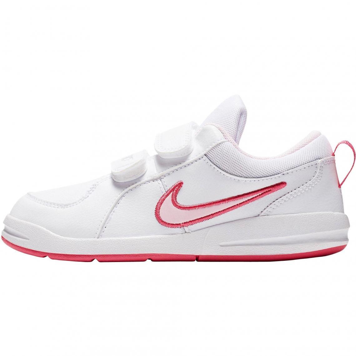 dca520d758f5e Baskettes Mixtes enfants Pico 4 de Nike - Rose - Blanc