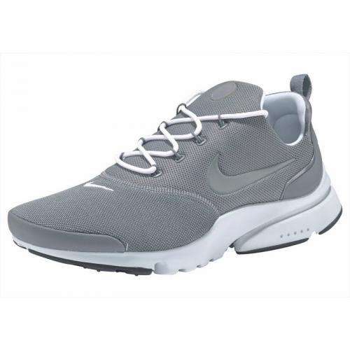 Nike - Chaussures de running homme Nike Sportswear Presto Fly - Gris - Blanc - Chaussures homme Nike
