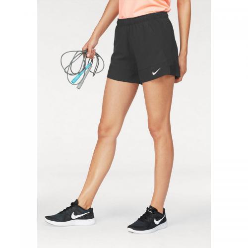 official photos 5b13e cb7d2 Nike - short court 2en1 femme Nike - Noir - Pantalon / Short de sport