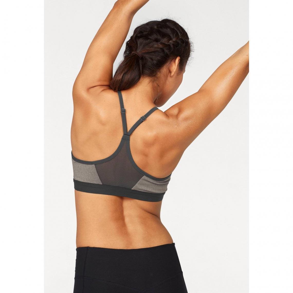 Soutien-gorge de sport femme Indy Bra Nike - Gris  8ec7a05c7e2