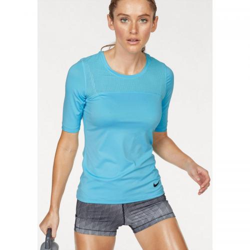 e9559054ca3db Nike - T-shirt manches courtes femme Nike - Bleu - T-shirt sport