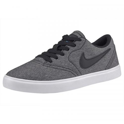 Nike - Baskettes mixte Junior Check canvas de Nike - Noir - Bleu - Vêtements fille