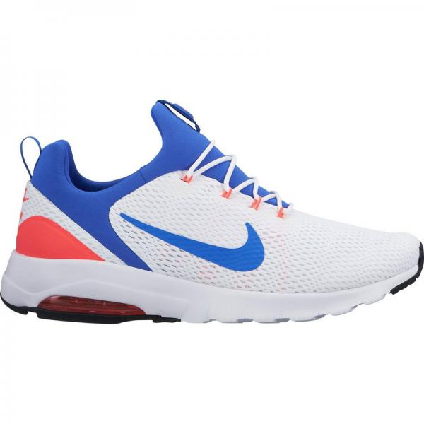 Chaussures de running homme Nike Air Max Motion Racer - Blanc - Bleu - Rouge Nike Homme