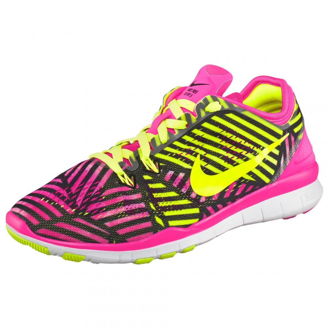 chaussures nike rose femme