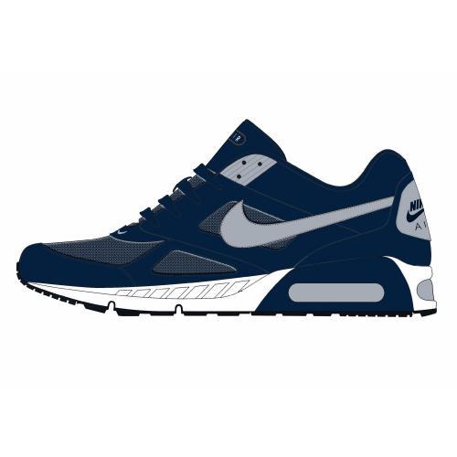 ad582b9729550 Nike - Nike Air Max tennis bleu homme - Nike