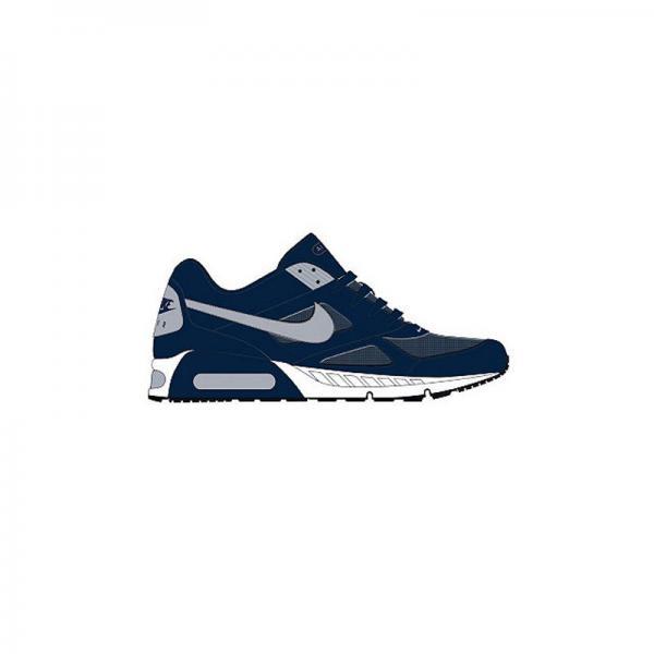 acheter en ligne e1fe4 1db2c Nike Air Max tennis bleu homme