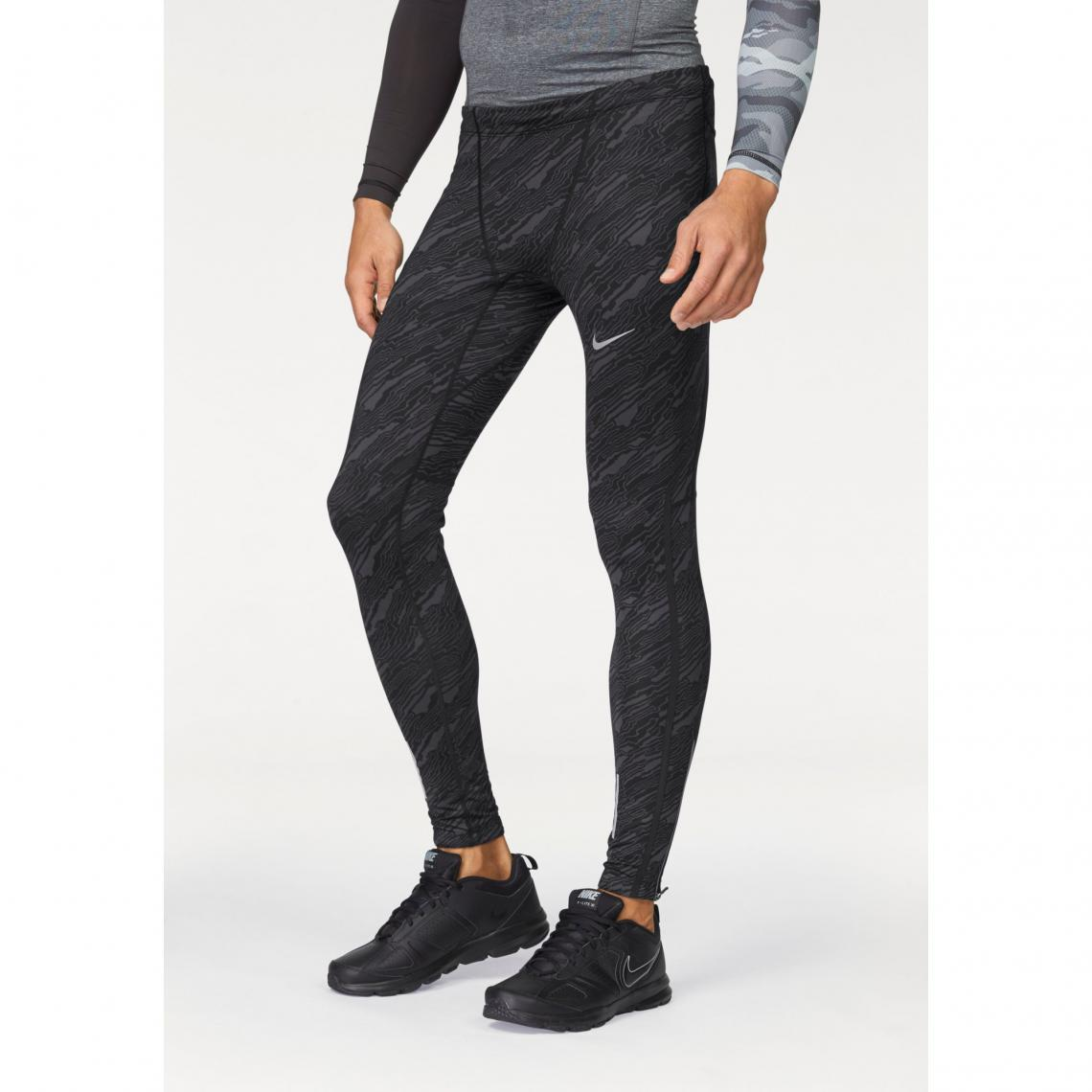 Collant de running homme Dri-FIT Tech Elevated Tight Nike - Noir Nike Homme 703f1b043bf