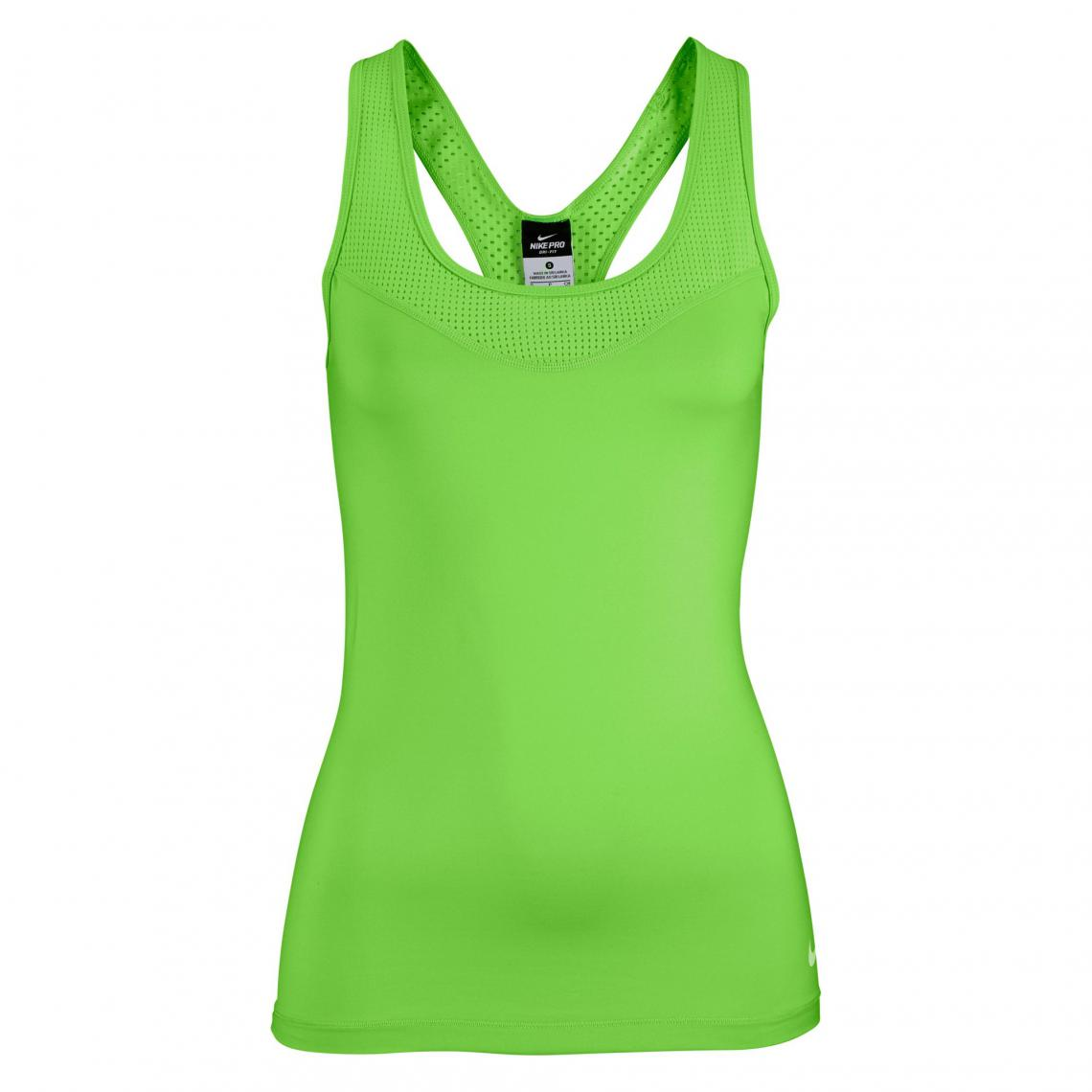 best service e320c c717b Débardeur de sport femme dos nageur Dry-FIT Pro Hypercool Tank Nike - Vert  Nike