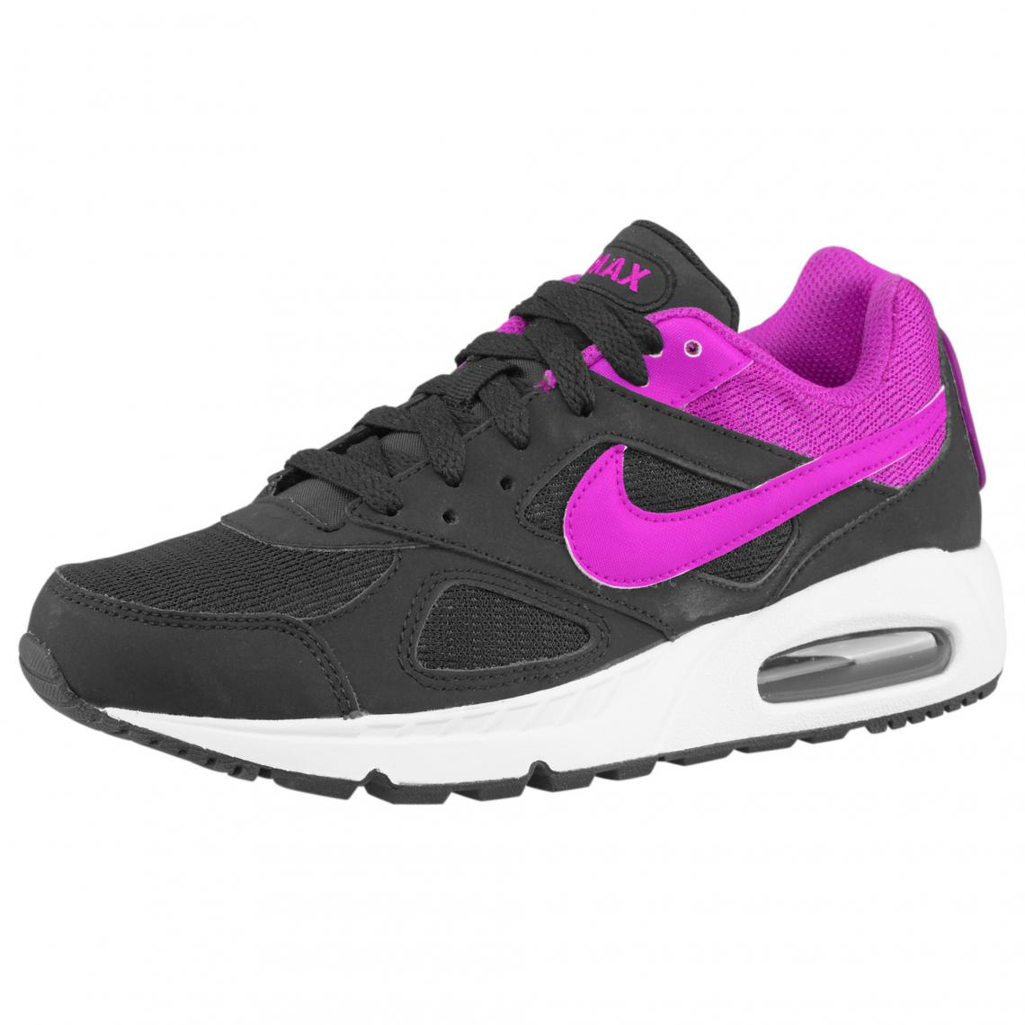 innovative design bcb77 0b7f8 Chaussures Nike Air Max - Noir Rose Nike Femme