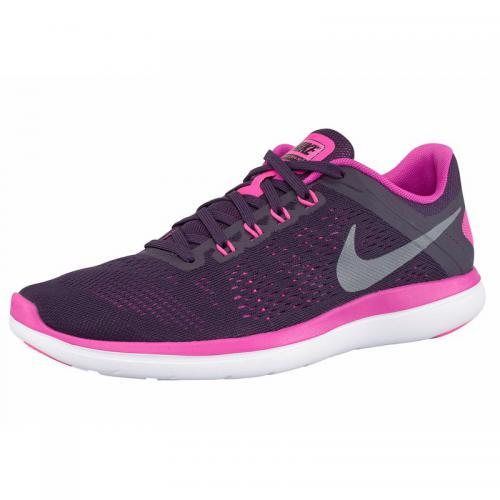 1b81c74f8aece Nike - Nike Flex 2016 RN chaussures de running femme - Rose Vif - Argenté -