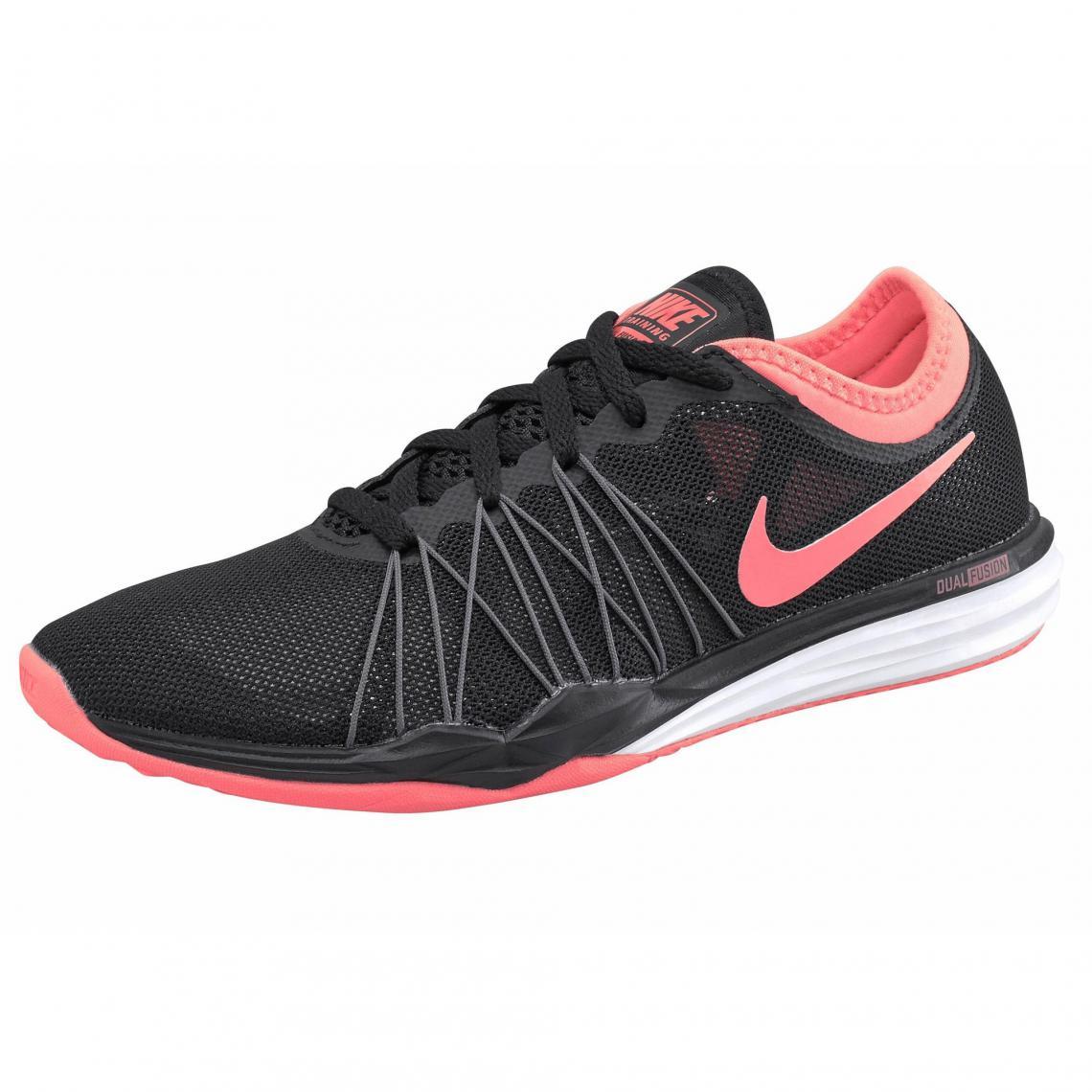 Chaussures de sport Nike Fitness Dual Fusion TR Hit Wmns femme - Noir Nike  Femme c9e0fc5ae1f