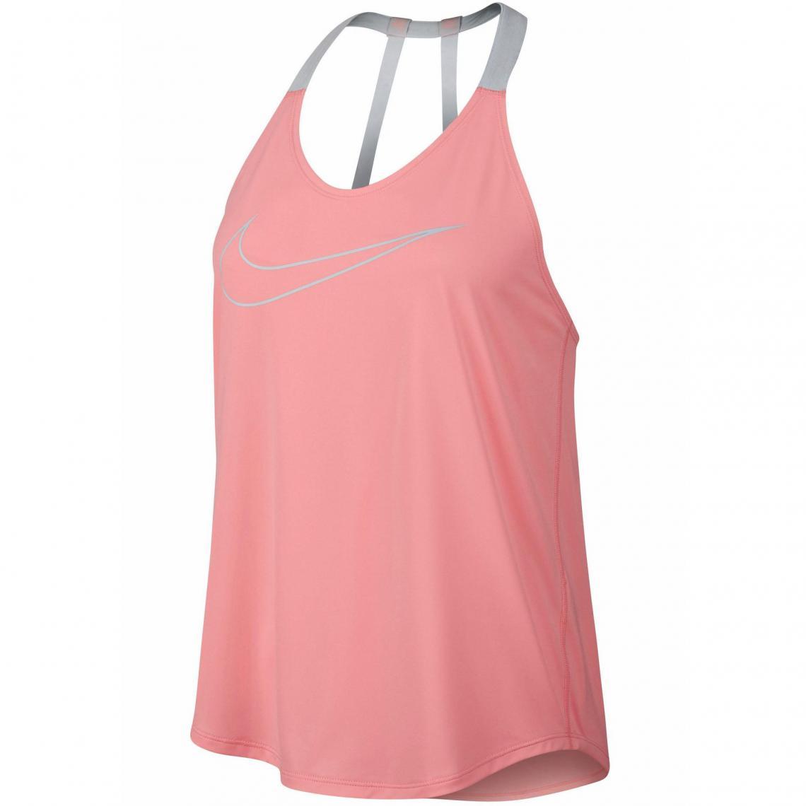 promo code f599d 518c6 Débardeur femme Dri-FIT Nike Dry Elastika GRX - Vert Nike Femme
