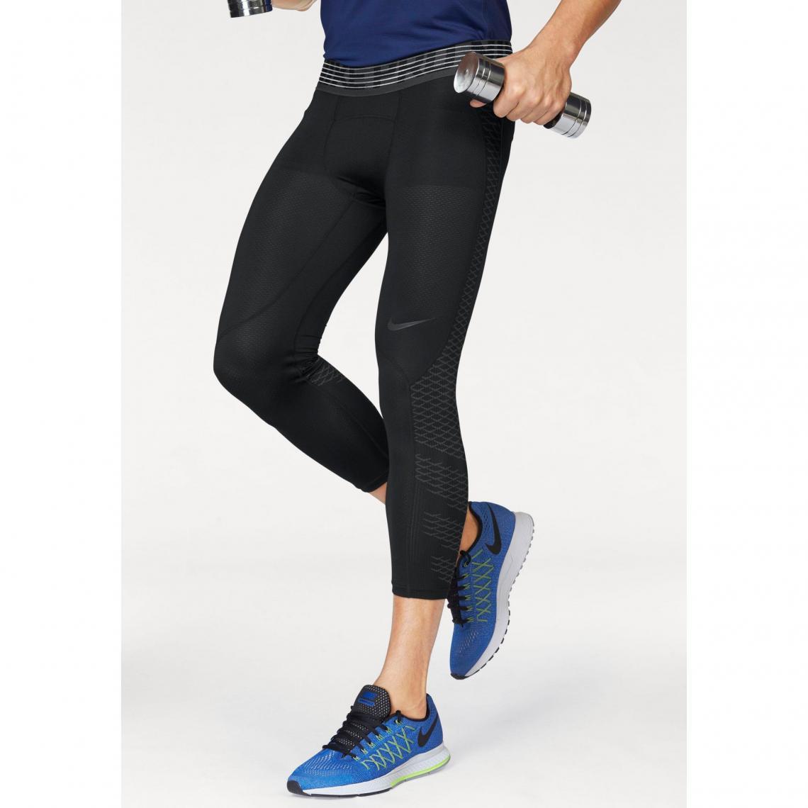 Collant de sport 34 homme Pro Hypercool Tight 3QT Nike - Noir Nike Homme 12549bd3aee
