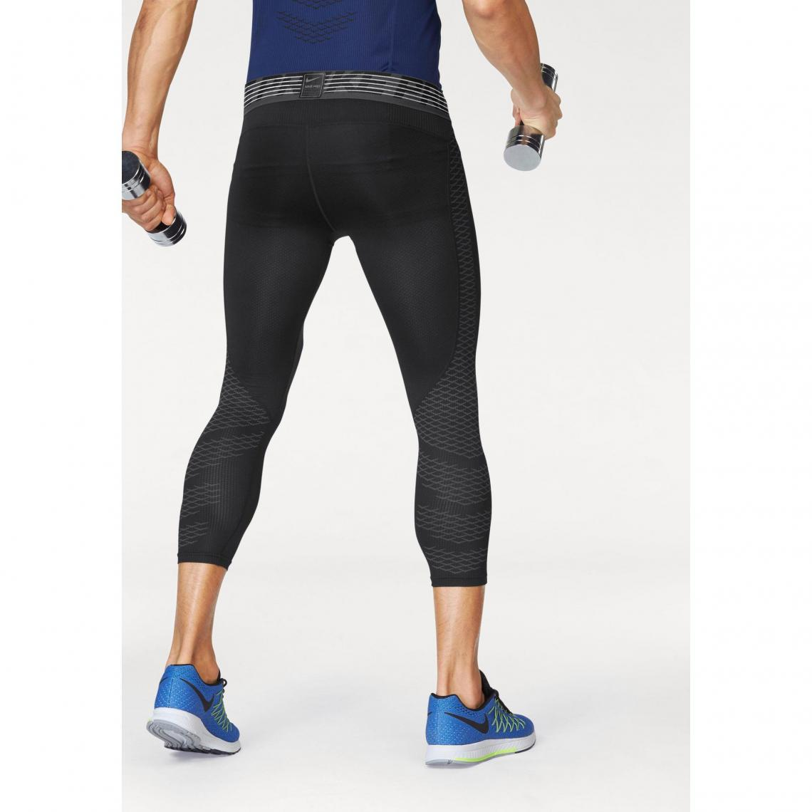 Shorts de sport homme Nike Cliquez l image pour l agrandir. Collant de  sport 34 homme Pro Hypercool Tight 3QT Nike - Noir Nike 98bbaf5f0b7