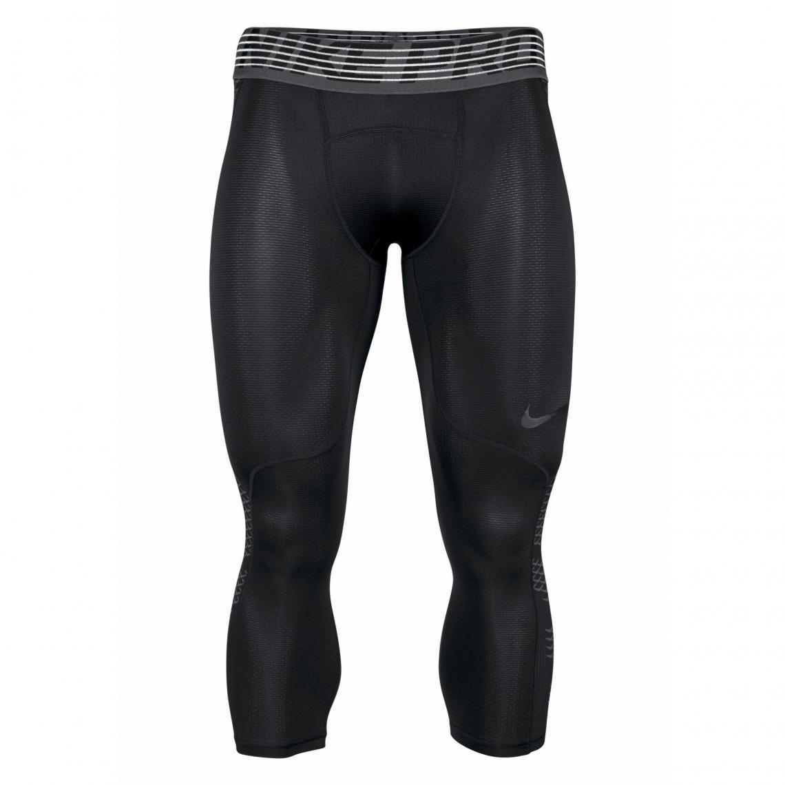 Collant de sport 34 homme Pro Hypercool Tight 3QT Nike - Noir Nike 00c48897676