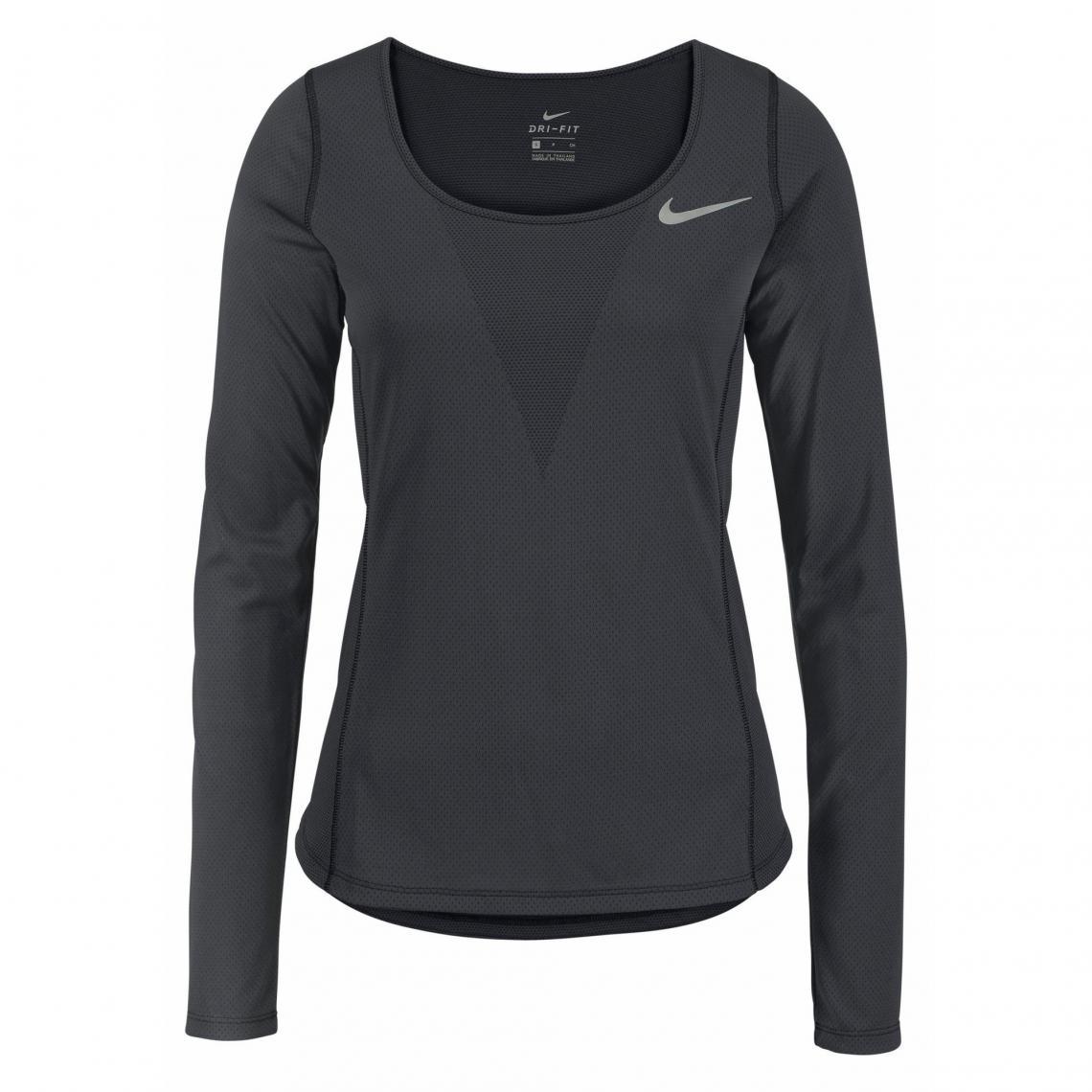 299bc4e9386ff Tee-shirt de sport manches longues femme Dri-FIT ZNL Classic Relay Nike -
