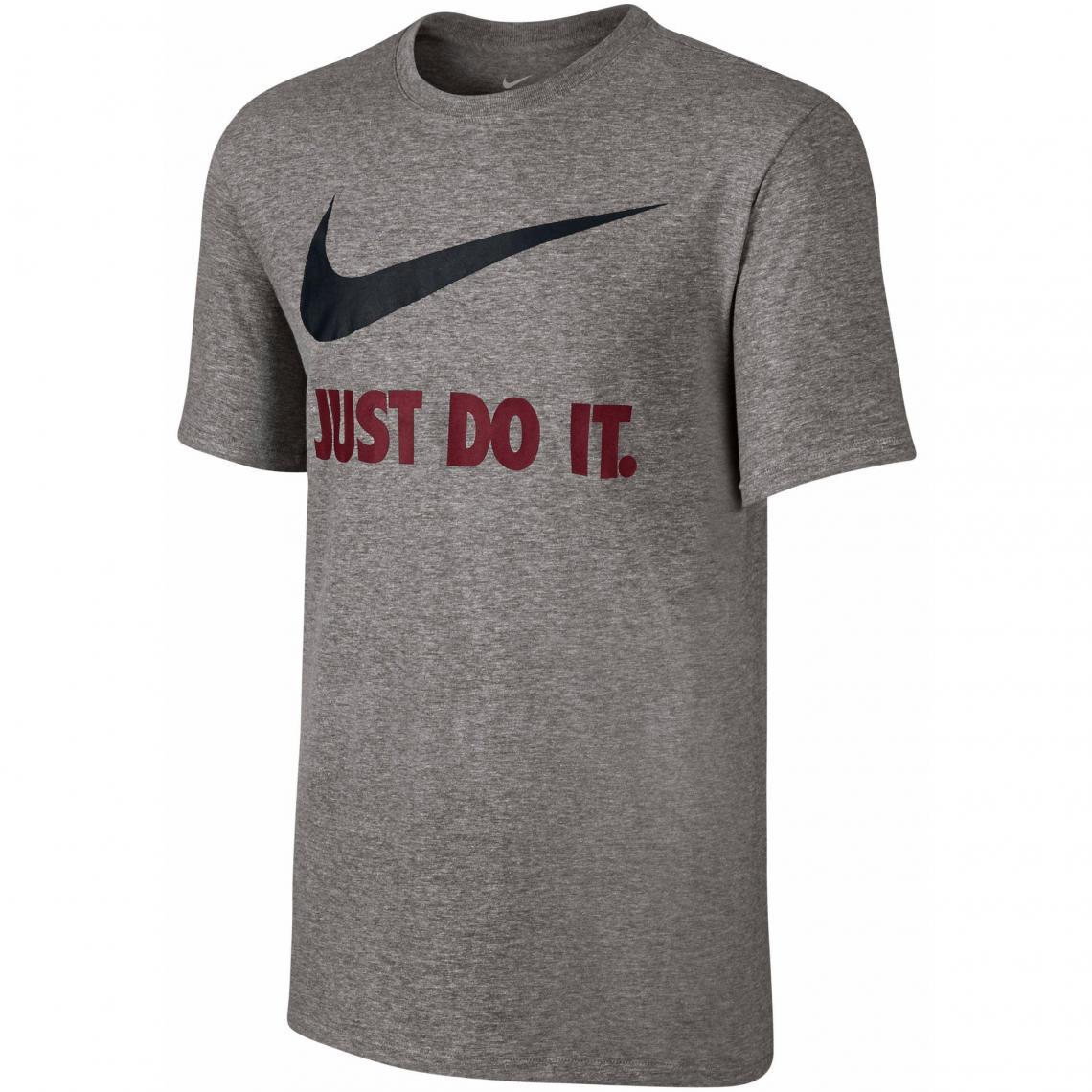 Homme 3suisses Manches T Shirt Swoosh Do Just Rond Courtes Col It XwZtZqv